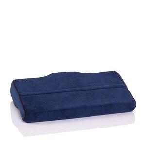 Image 5 - Yr travesseiro de pescoço de espuma de memória, travesseiro para pescoço ortopédico, cuidados de saúde, cervical, coluna, adultos, recuperação lenta, relaxamento, em formato de borboleta