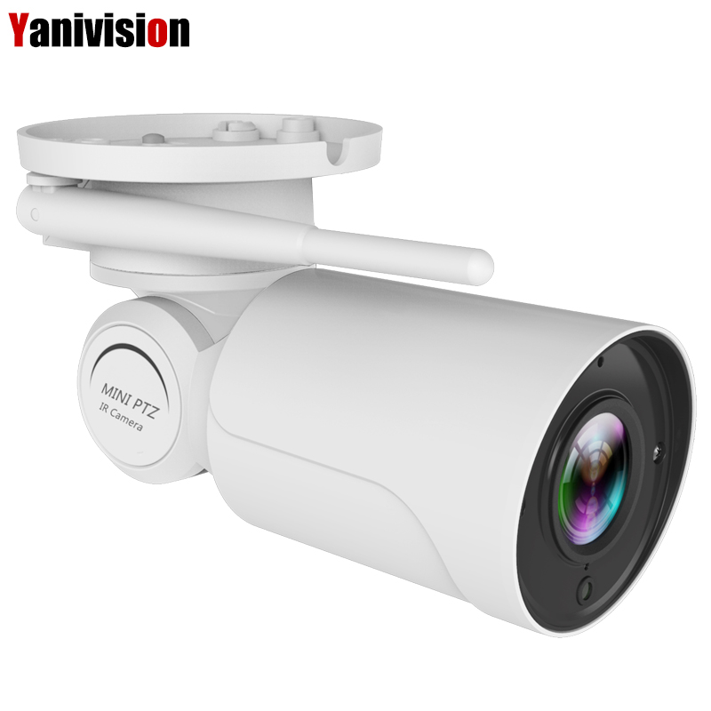 1080P 2MP PTZ IP Camera WiFi Bullet Outdoor Wireless WiFi Waterproof Camera CCTV Security Surveillance 4X