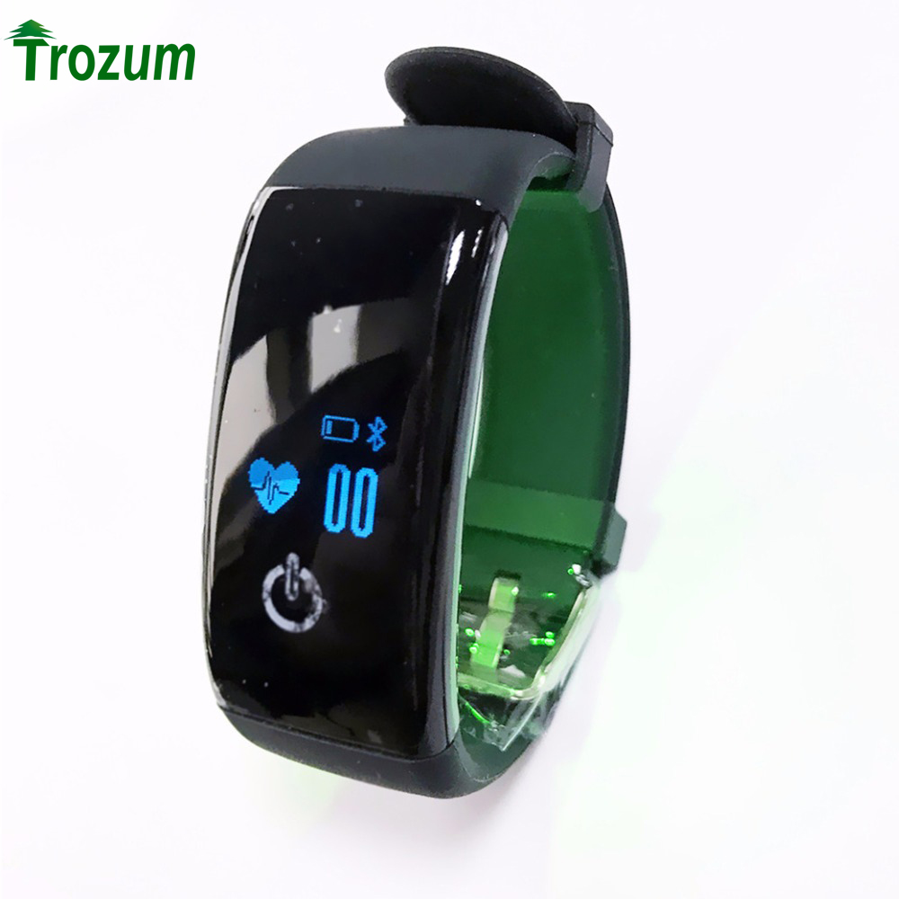 D21 Heart Rate Monitor Smart Bracelet Swimming Alarm Clock Step Counter Call Message Reminder Smartband for