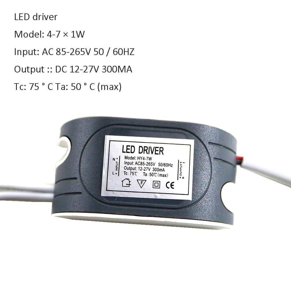 LED Driver lighting transformers AC 110V 220V to DC 6V-160V power supply AC DC 12V 24V Driver for Led lights lamps KQ