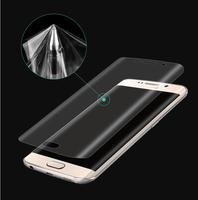 3D Full Coverage Curved Screen Protector For Samsung Galaxy S7 Edge S6edge S6 edge plus S8 S9 Plus Note 8 9 Soft PET (Not Glass)