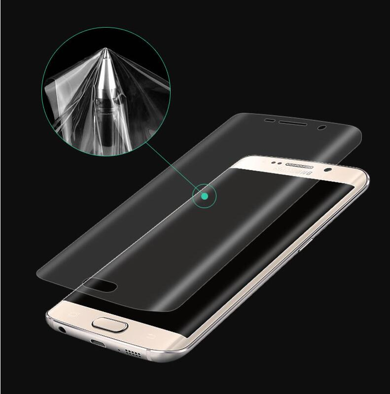 3D Full Coverage Curved Screen Protector Für Samsung Galaxy <font><b>S7</b></font> Rand S6edge S6 rand plus S8 S9 Plus Hinweis 8 9 weiche PET (Nicht Glas) image