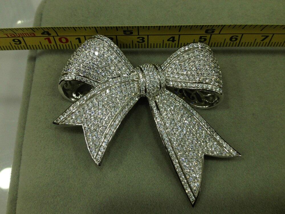 Strik sieraden accessoires diy 925 sterling zilver met zirkoon gratis verzending - 4