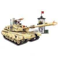 Creative tank building blocks 06021 1340PCS Military Series 99 Tank Building Blocks Bricks Tank Model Kid Toys Christmas Gift