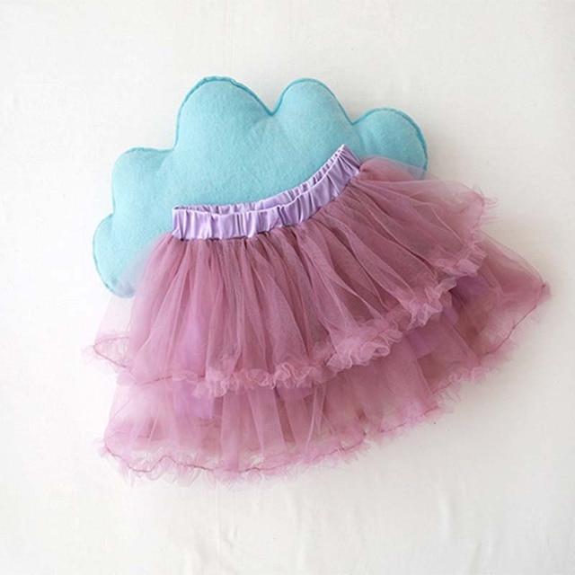 Bé Trẻ Em Váy Váy Tutu Cô Gái Váy Trẻ Em Khiêu Vũ Công Chúa Vải Tuyn Váy Ba Lê Tutu Váy Trẻ Em Voan