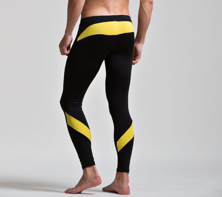 2da6602a892c2 Sexy Hiver Hommes Chaud Laine caleçon Long Pijama Hommes Bas-taille  Élastique Mince Plus Le Velours Legging et Collants Hommes Bas de Pyjama