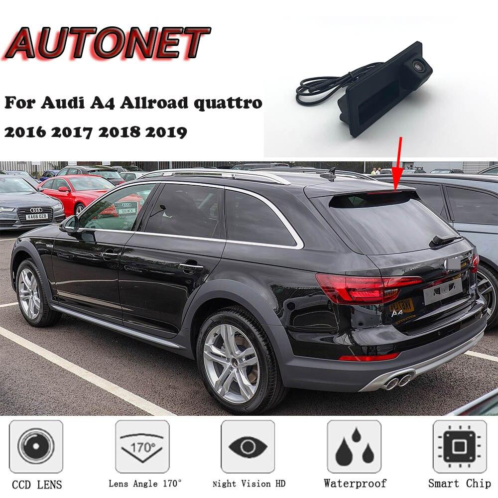 AUTONET Car Trunk Handle Camera For Audi A4 Allroad Quattro 2016 2017 2018 2019 Night Visioin Backup Rear View Camera