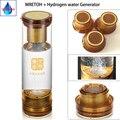 Generatore di idrogeno Per H2 Ionizzatore Acqua e MRETOH Risonanza Molecolare tazza Di acqua di Vetro 600 ml Con Acido acqua cavità