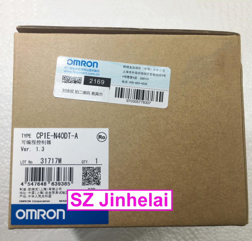 New and original CP1E-N40DT-A OMRON Plc controller cp1e e30sdr a new and original omron plc controller