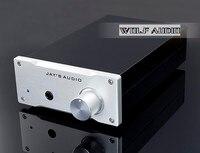 Finished Mini Edition HIFI Headphone Amplifier Class A OPA2134PA Desktop Audio Amp Reference Germany Lehmann amp