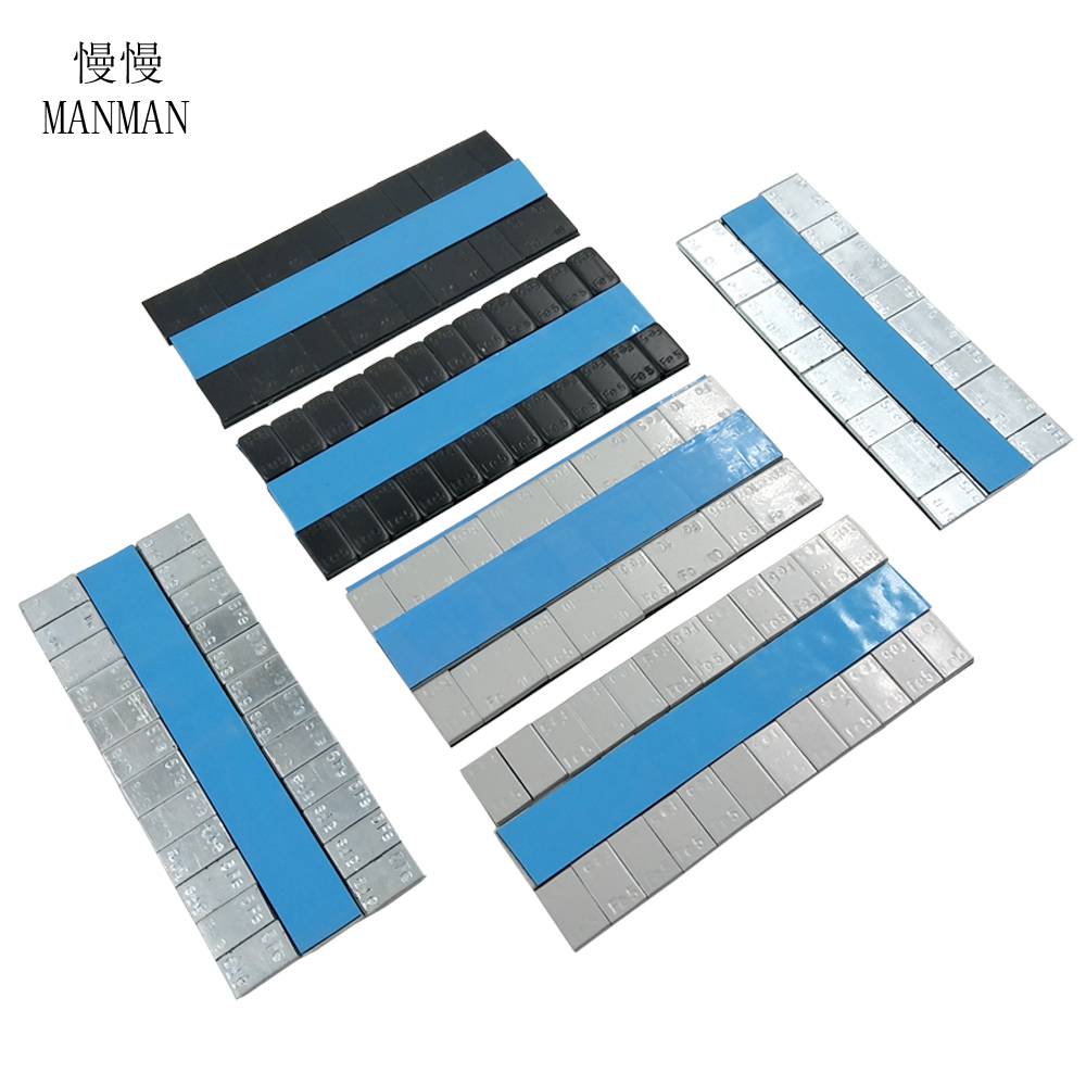MANMAN 0.18KG Wheel Balance Weight/ Car Tire Balancing Blocks Adhesive Balancing Wheel Balancing Block Weight
