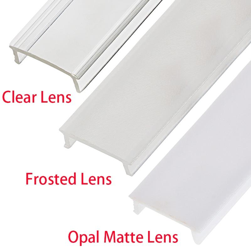 UnvarySam Perfil de aluminio negro para barra de luz LED 5Pcs 1M - Iluminación LED - foto 3