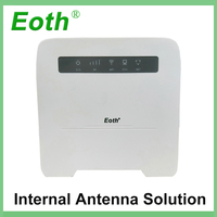 Eoth 4G LTE VOIP Router 4G Router(plus antenna) with Sim CardSlot 4G LTE WiFi Router with 4 Lan Port