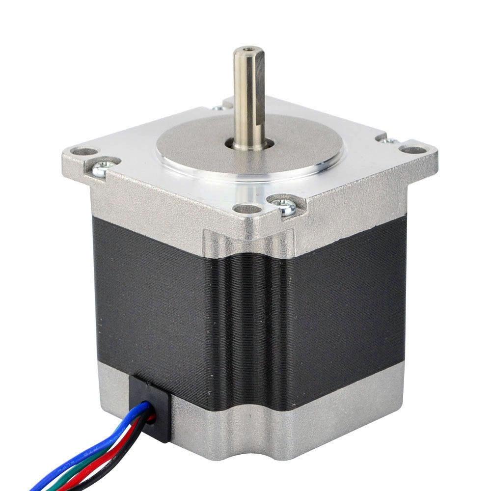 Nema 23 Stepper Motor 4 Wires Bipolar 0.9 Degree 1.26Nm (178.4oz.in ...