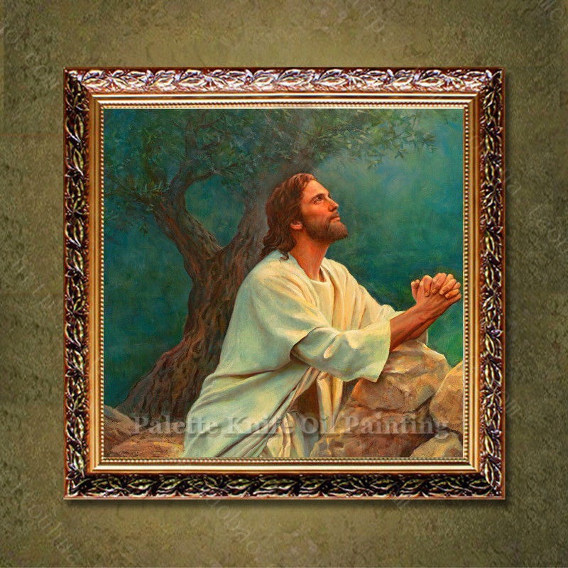 Jesus Christ Jesus Canvas Painting Religious Christian Catholic Art Posters And Prints Wall