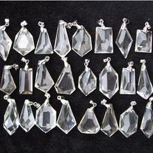 30 натурально чистый Подвеска из кварцевого кристалла исцеления