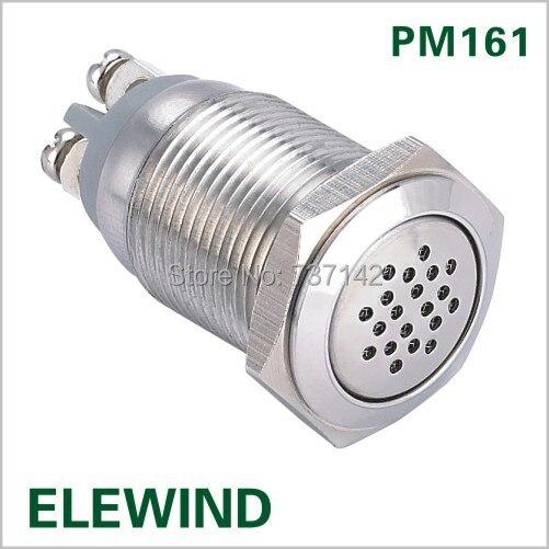 16 мм непрерывный звук Зуммера (PM161B-M/24 В)