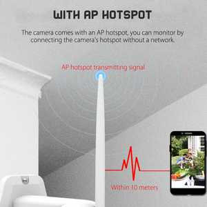 Image 4 - ANGOOD V380 Outdoor IP66 Smart IP Kamera HD 1080P 2MP PTZ Sicherheit System Unterstützung Onvif Tf karte Wolke Lagerung speed Dome Monitor