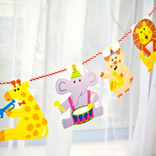 Multicolor Animal Design Garland