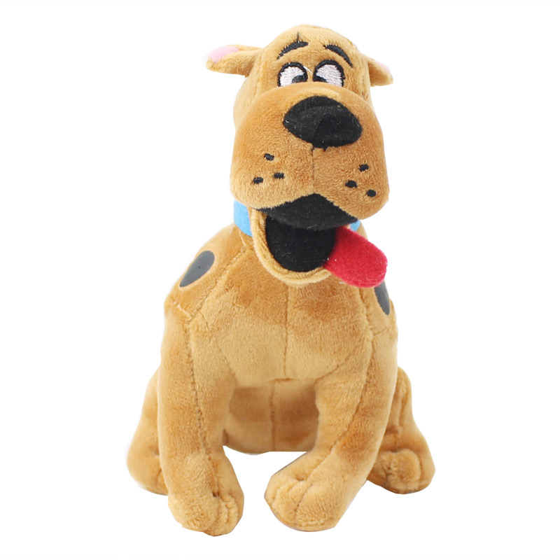 13cm Western Movie Scooby-Doo The Dog Plush Toy Scooby Doo Stuffed Animal Doll for Children image