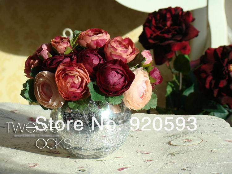Декоративные цветы и венки из Китая