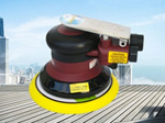 SAT7496 High Quality Light-Weight Pneumatic Sander Power Tools 5 Non Vacuum Air Sander 5 inch air sander pneumatic polishing machine high quality