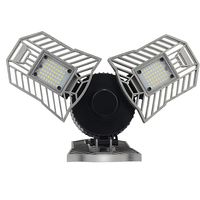 Led Lamp Deformable Garage Light E27 60W LED SMD 2835 Home Lighting Super Bright Parking Warehouse Industrial Led Mining Lamps