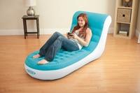 Luxury Flocking A Single Chair Inflatable Sofa Recreational Sofa Chair