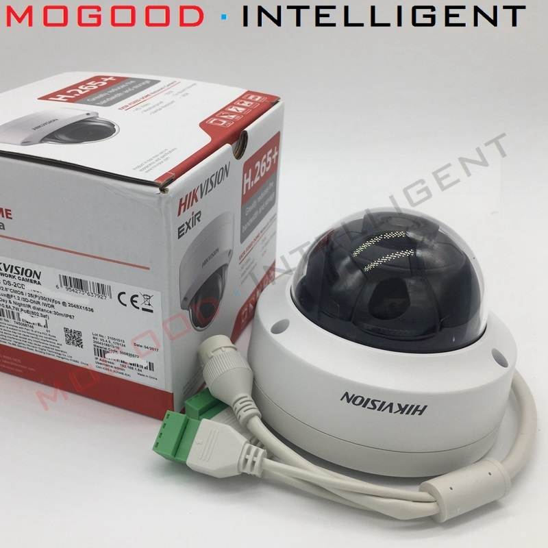 HIKVISION DS 2CD3145F IWS H 265 CCTV IP Camera 4MP PoE Support EZVIZ Hik Connect App