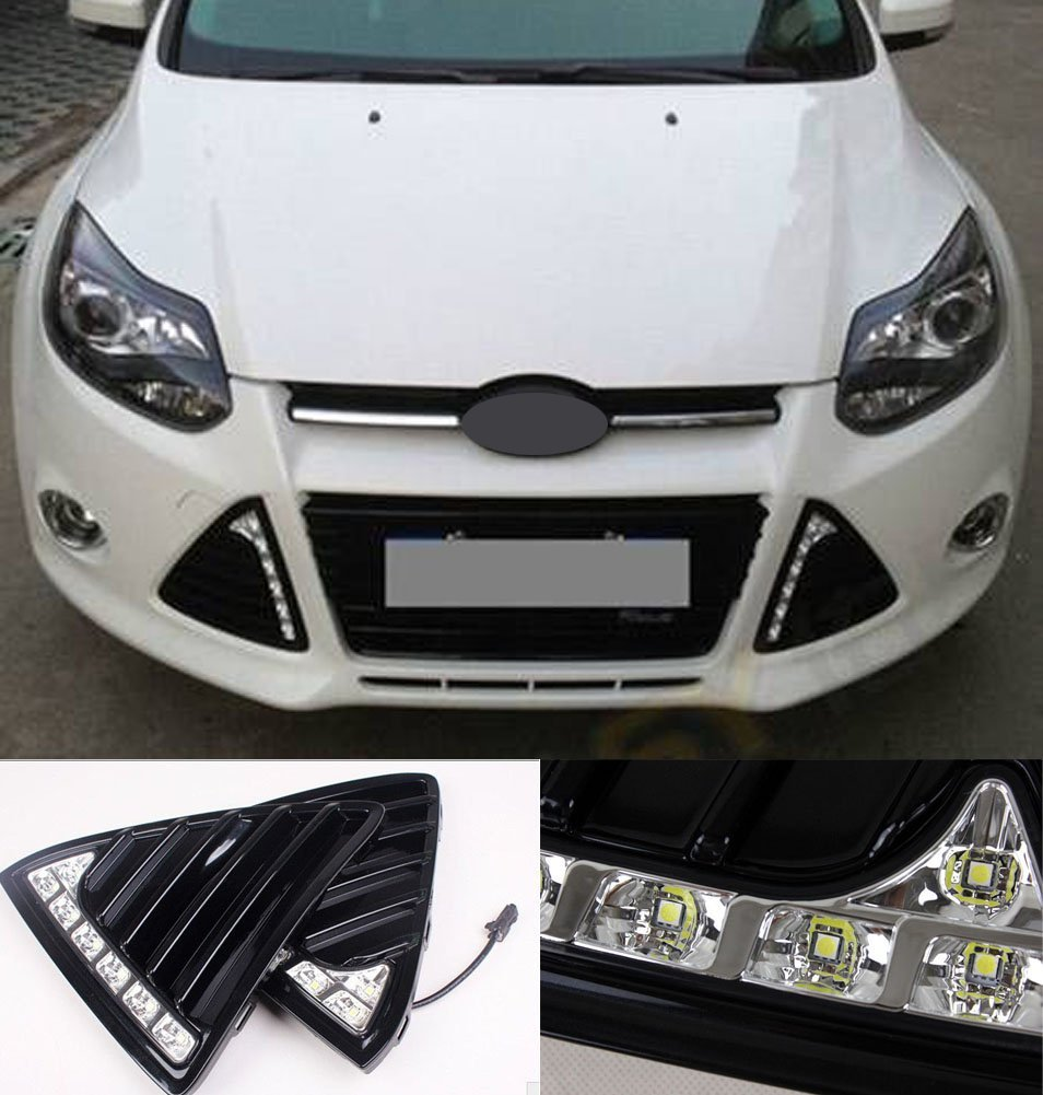 aliexpress com buy complete kit led replace daytime running lightsaliexpress com buy complete kit led replace daytime running lights fit for ford focus fog lamp drl 2011 2014 from reliable replacing fog lights suppliers