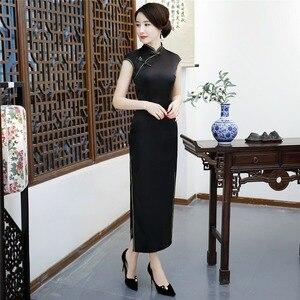 Image 1 - شنغهاي قصة الصينية تشيباو شيونغسام مثير فساتين السهرة الطويلة ثوب الرجعية اللباس للمرأة