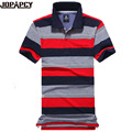 2017 New Brand Clothing MEN Casual Striped Polo shirt Short-sleeve camisa masculina Shirts Fashion new MXC0284