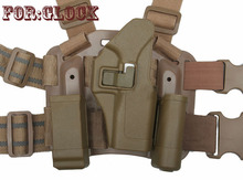 Tactical Hunting gun accessories Quarters Concealment Military Thigh GLOCK Holster