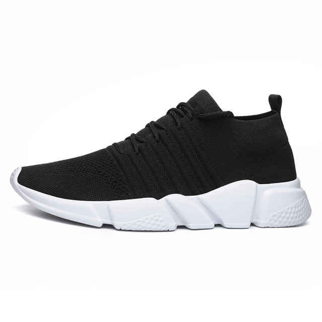 023dc1eae1e7e Running Shoes for Men Sneakers Outdoor Men Sport Shoes Breathable Gym Athletic  Shoes Men Trainer Sock Footwear Zapatillas Hombre