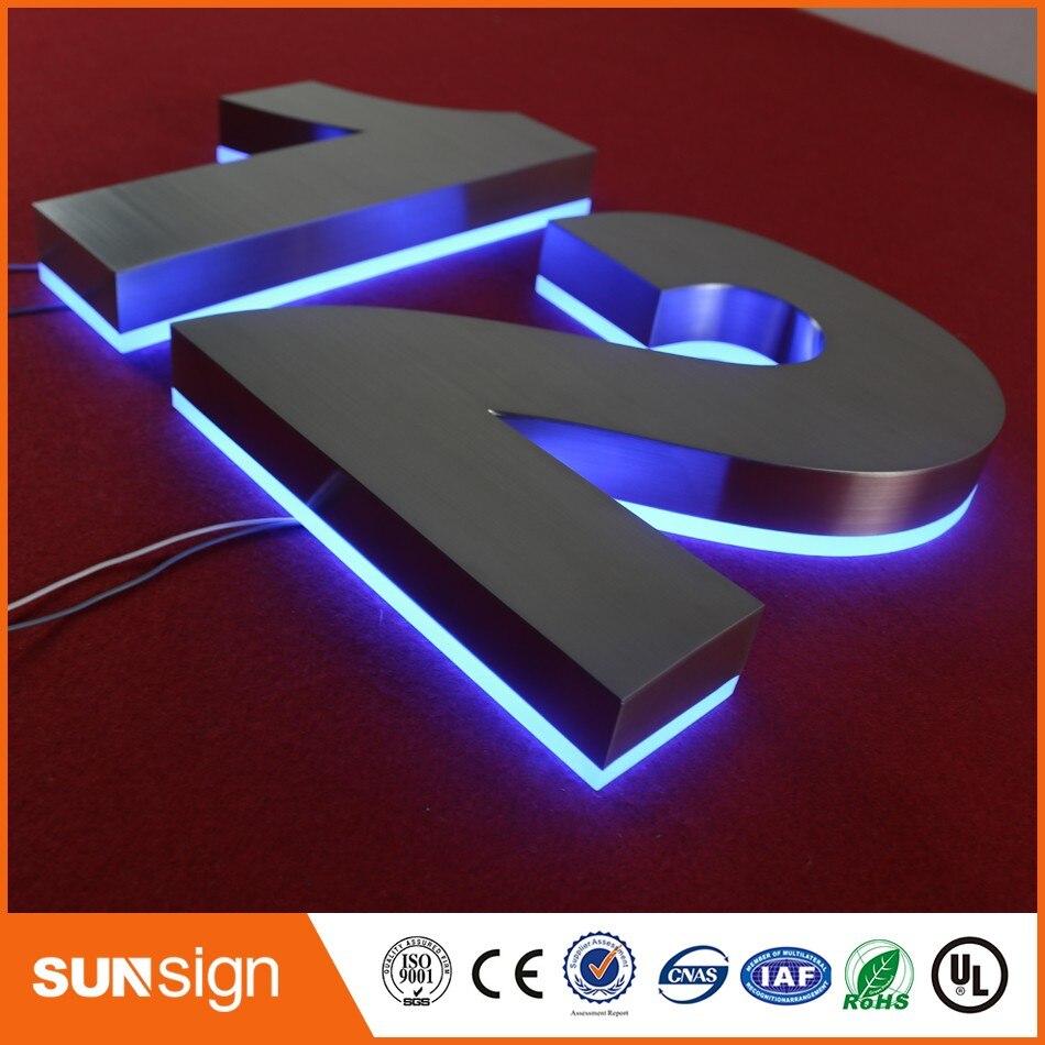 Signe de LED personnalisé en gros salon panneaux de LED