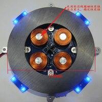 Load 500g Magnetic Levitation Core Band LED Lamp Magnetic Levitation Module Magnetic Levitation Naked System High