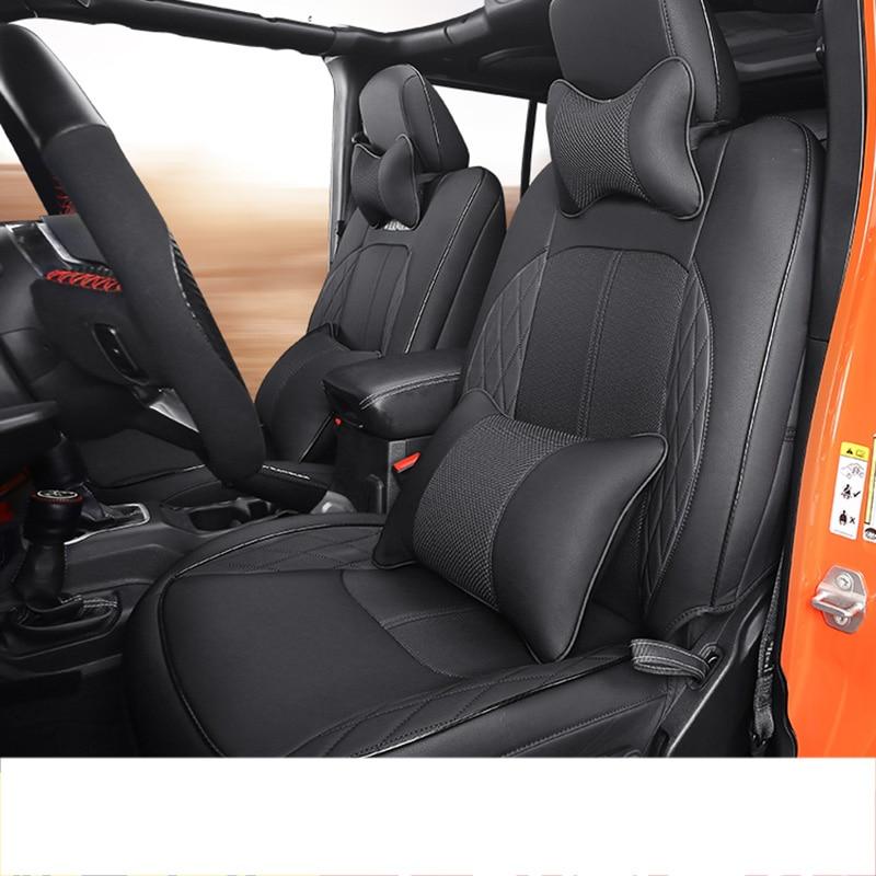 Carbon Fiber ABS Car Antenna Base Cover Round Frame for Jeep Wrangler JK JL 07+