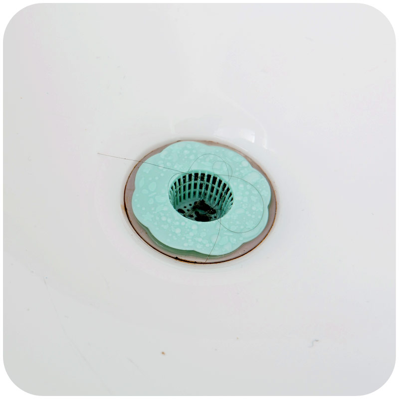 6pcslot new plastic kitchen sink strainer filter 1pc round kitchen 6pcslot new plastic kitchen sink strainer filter 1pc round kitchen sink drain cover stopper f2223 in colanders strainers from home garden on workwithnaturefo
