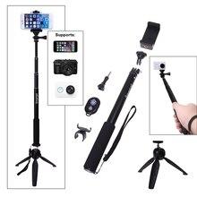 Bluetooth zdalnego migawki aparatu + uchwyt + statyw monopod selfie kij dla iphone 6 s 6 ° c/dla sony z z1 z3 z2 e3 c5 mini/dla Gopro