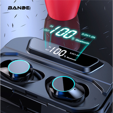 BANDE 3300mAh Charge Box TWS Bluetooth 5.0 Earbuds In Ear Wireless Earbuds Stereo Bass Sound  Wireless Bluetooth Earphones