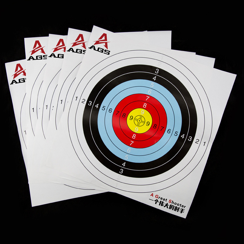41*41cm Standard Archery Targets Paper Reinforced Darts Hunting Shooting Pratice Paper Recurve Compound bow Arrow Accessories