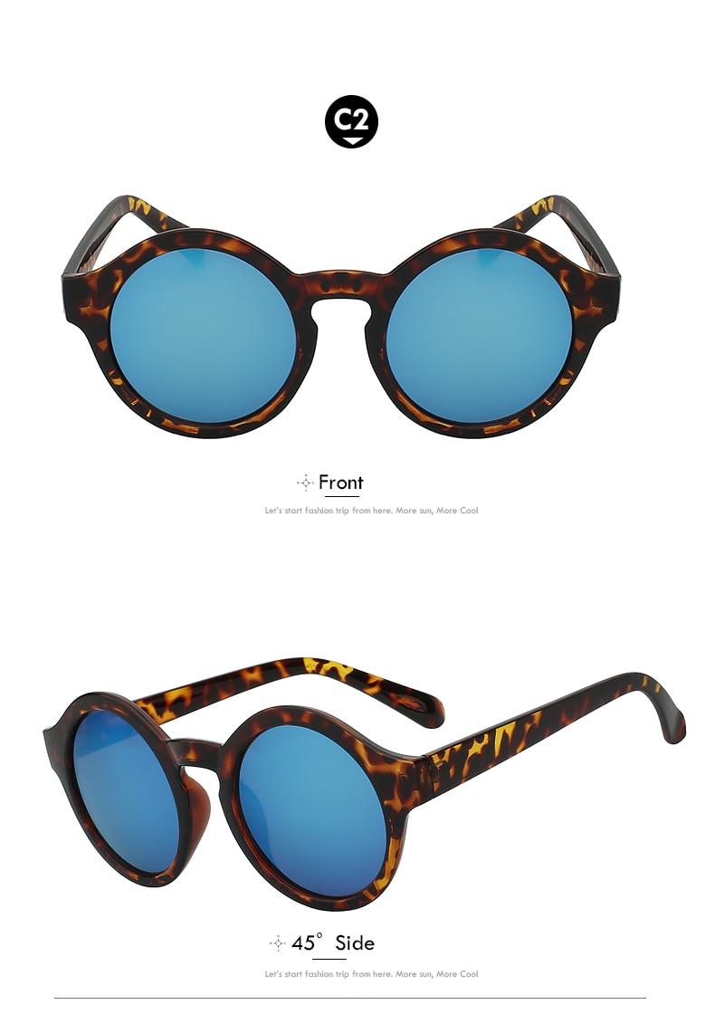 HTB1D5X gH I8KJjy1Xaq6zsxpXaB - Round Circle Sunglasses Women Retro Vintage Sun glasses for Women Brand Designer Sunglasses Female Oculos Gafas De Sol Mujer