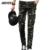 Camuflagem Do Exército Calças Dos Homens 2017 Hot Moda Militar MYB0125 Homme Pantalon Skinny Calças Da Motocicleta Calças de Algodão de Alta Qualidade