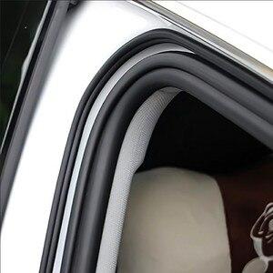 Image 5 - B Type Car Door Seal Sound Insulation Strip for Toyota Corolla iM E170 E140 E150 3 Mark 2 Mark X Matrix 1 2 Platz Premio