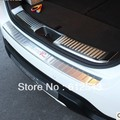 KIA Sorento R 2013 2014 stainless steel car exterior +interior rear trunk bumper strip protector decoration sill guards