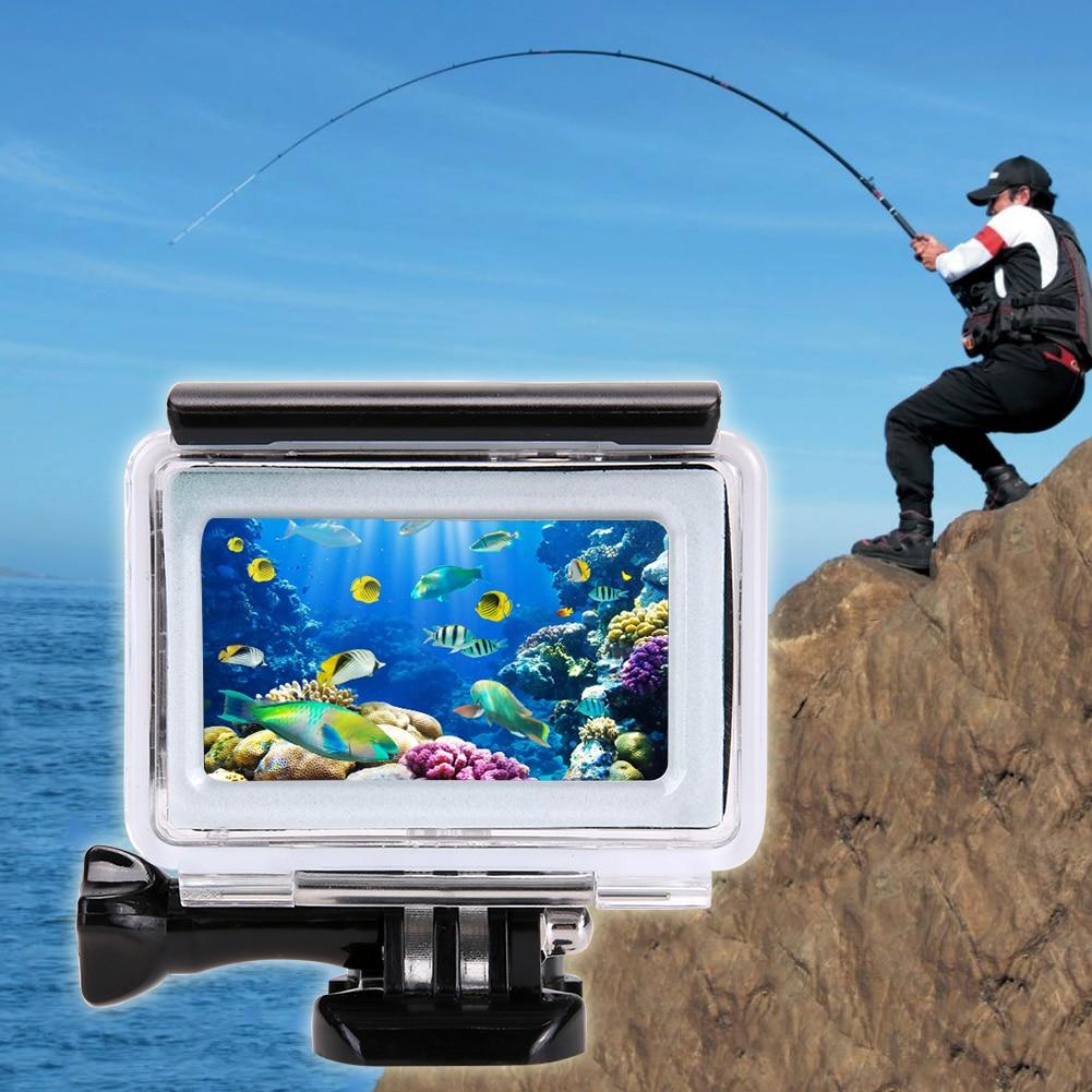 ALLOET for Xiaomi Yi 4K sukellus vedenpitävä kosketus kamera - Kamera ja valokuva
