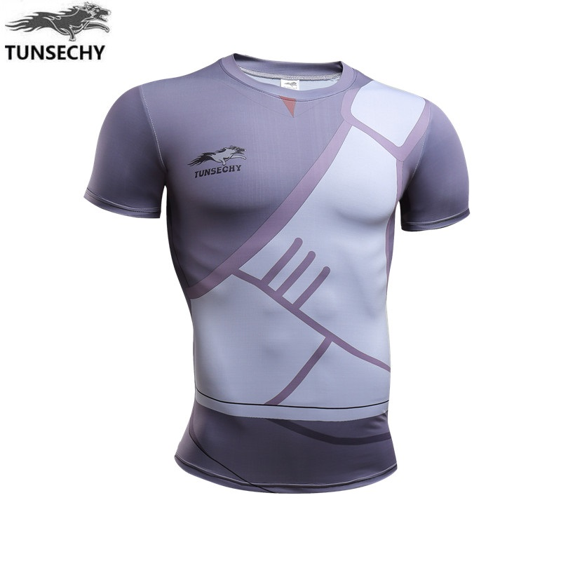 2019 TUNSECHY Naruto Flag Wood Kakashi Sasuke Fashion Short Sleeve T-shirt Men's Clothing Wholesale And Retail Free Shipping