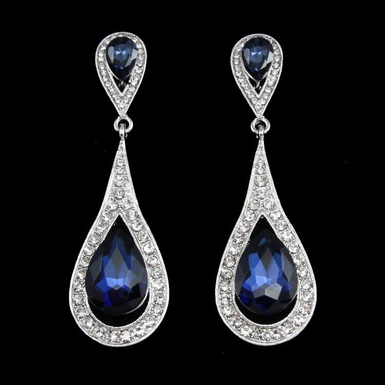 Women Drop Dangle Hoop Earrings Fashion Jewellery Party ...
