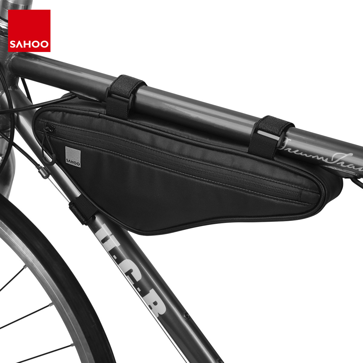 MTB Bike Bicycle Cycling Front Top Tube Triangle Frame Storage Bag Pack Pouch