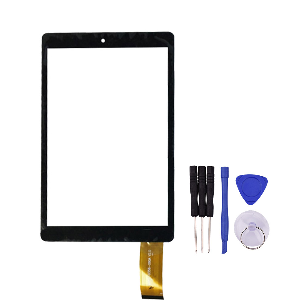 8 9inch Black Touch Screen for TW38 Tablet PC Digitizer Glass Panel with Free Repair Tools